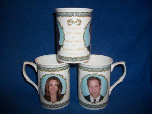 Prince William and Kate Middleton Bone China Wedding Mug