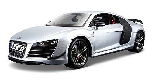 Maisto 1:18 Scale Audi R8 GT Diecast Vehicle (Colors May Vary) (Audi R8 Model Car compare prices)