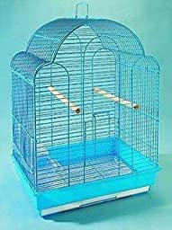Bluebell Powder Blue Cage With Feeders And Perches