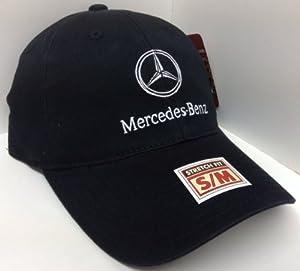 Black Mercedes Benz S/M Flex Fit Hat Cap
