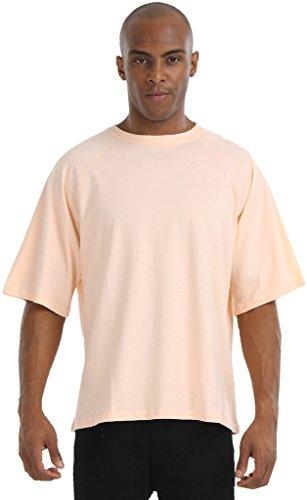 pizoff-unisexe-hip-hop-luxe-t-shirts-avec-lorange-armee-de-motif-rose-lache-bundeswehr-ajustement-oc