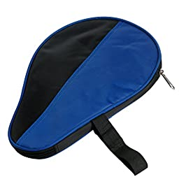 Kangnice Waterproof Table Tennis Case Ping Pong Racket Paddle Bat Cover Pouch Ball Bag