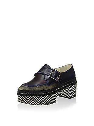 Pollini Zapatos (Azul Oscuro)