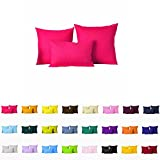 "Decorative Pillows Cover/Cushion Case (18""x18"", Hot Pink)"