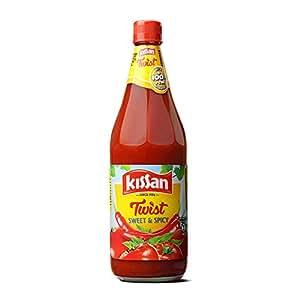 Kissan Sweet and Spicy Ketchup, 1000g