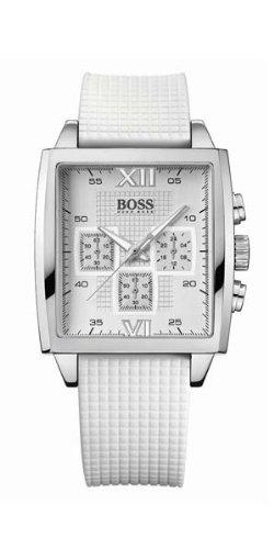 Hugo Boss 1502208 - Reloj analógico de mujer de cuarzo con correa blanca