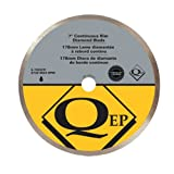 UPC 010306000062 product image for QEP 6-7003Q Continuous Rim Diamond Blade, 7-Inch Diameter, 5/8-Inch Arbor, Wet C | upcitemdb.com