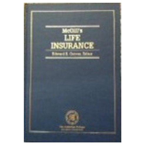 McGill's Life Insurance (Huebner School Series)