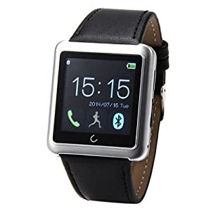 Efanr® 2015 Water Resistant Bluetooth Smart Watch Touch Screen Bracelet Exercise Smartwatch Running Wristbands Sports Watches Luxury Fitness Health Tracking System Wrist Watch Women Men Cell Phone Mate Partner Pedometer Step Walking Distance Calorie Count