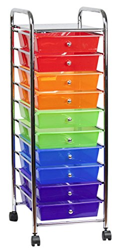 Sunbeam 10-Drawer Rolling Cart