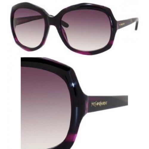 Yves Saint LaurentYves Saint Laurent 6375/S Sunglasses-0785 Purple (J8 Mauve Grad Lens)-58mm