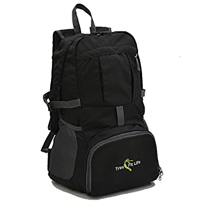 TravPack-30L Top Rated Best Lightweight Travel Backpack in America. Handy Foldable & Durable Hiking Camping Daypack for Men Women and Children-Water Resistant for Outdoor Sports and active lifestyle