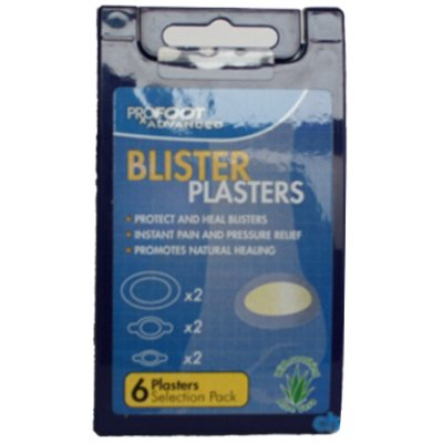 Profoot Blister Plasters with Aloe Vera (6 Pack)