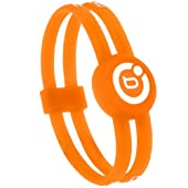 Bioflow Sport Twin Magnetic Wristband Orange/White