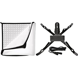 Westcott Flex LED Kit Daylight Mat with Holder and Diffuser