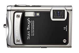 Olympus Stylus Tough-8000 12 MP Digital Camera with 3.6x Wide Angle Optical Dual Image Stabilized Zoom and 2.7-Inch LCD (Black)