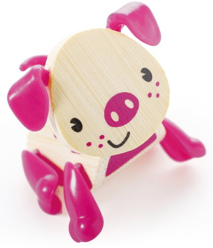 Hape Mini-mals Pig Bamboo Play Figure