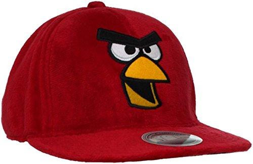 Granny's Best Deals (C) Angry Birds Rovio Red Bird Plush snap back Baseball Cap-New! (Hat Granny)