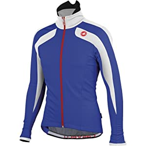 Castelli Zonoclan Jacket (S, DEEP BLUE/WHITE)