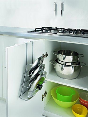 Topfdeckelhalter fur 3 deckel 26 x 9 x 36 cm for Küchen halterungen