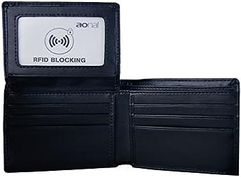 Aonal RFID-Blocking Bifold Wallet