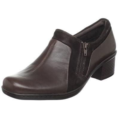460f51a668f595 (漂亮)Clarks其乐中跟女士皮鞋Berwick Way Slip-On Loafer