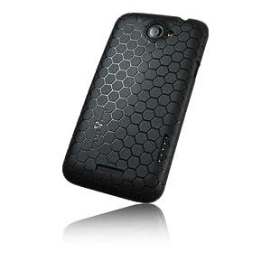 PULSARplus TPU Hülle Handytasche Case für HTC One X / X+ X Plus Tasche Schutzhülle in schwarz