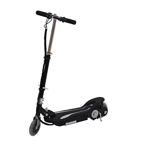 Electric 120W Kids Motorized Riding E Scooter - Black