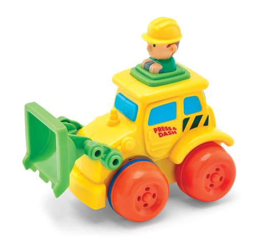 Kidoozie Front Loader Push 'n Zoom Vehicle - 1