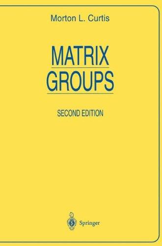 Matrix Groups (Universitext)