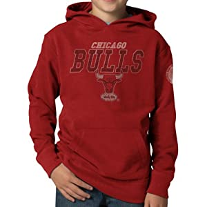 NBA Chicago Bulls Playball Hoodie Jacket, Rescue Red by