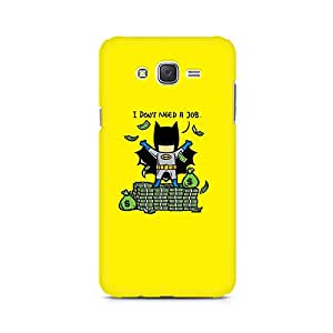 Ebby Batman Needs No Job Premium Printed Case For Samsung J1 2016 Version