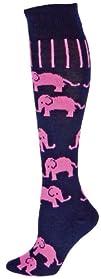 Red Lion Elephants Animal Socks