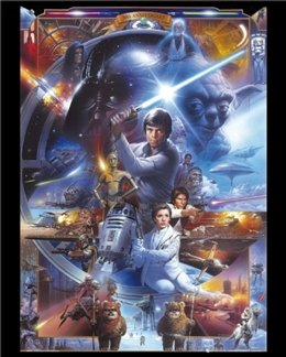 30Th Anniversary Star Wars Poster
