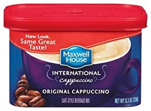 Maxwell House International Original Cappuccino (438810) 8.3 oz (Pack of 8)