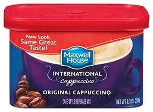Maxwell House International Original Cappuccino (438810) 8.3 oz (Pack of 8)