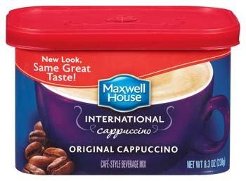 Maxwell House International Original Cappuccino 438810 8
