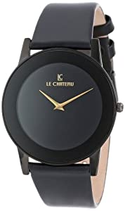 Le Chateau Men's 5094M_GUNCASE Slim Collection Gun Case Watch