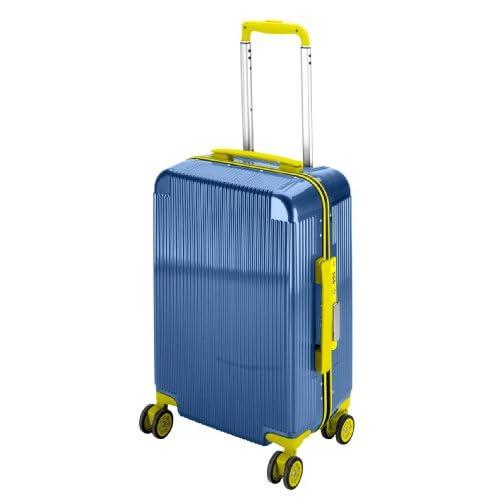 キャプテンスタッグ(CAPTAIN STAG) シック トラベルスーツケース TSAロック付きコンパクトタイプ アクアブルー UV-45