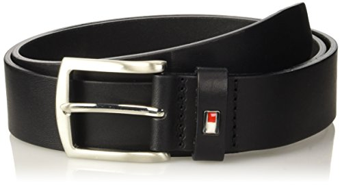 Tommy Hilfiger Am0Am01003, Cintura Uomo, Nero (The Black 901), 105
