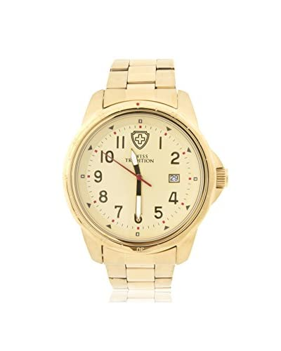 Swiss Tradition Women's ST15003 Gold Stainless Steel Watch