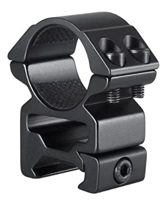 Hawke Sport Optics 2pc Match Series Weaver Scope Rings, 1in, High, QuickPeep HM7103 by Hawke Sport Optics