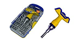 Goodyear Ratchet Screwdriver & Bits Set (Standard)