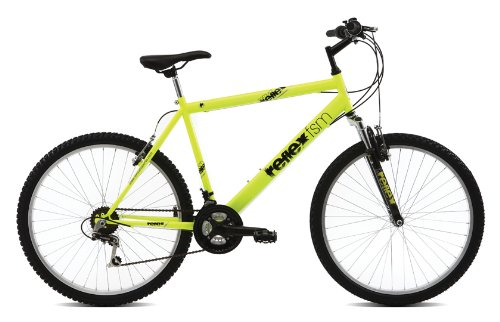 Reflex Samurai Men's Mountain Bike - Yellow/Black, 14 Inch