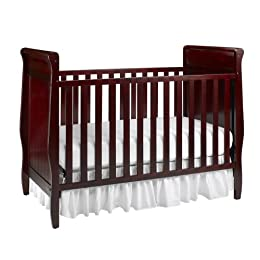 Product Image Graco Ashleigh 4 in 1 Classic Crib in Cherry