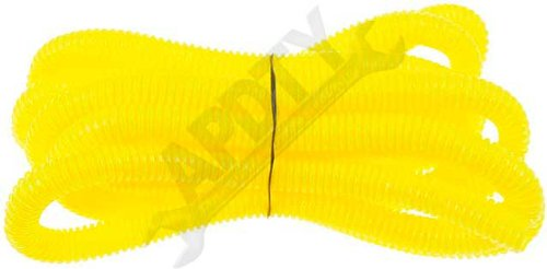 APDTY 97763 3/8 In. X 10 Ft. Yellow Flex Split Wire Conduit coupons 2016