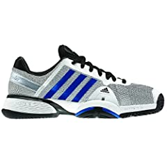 Buy adidas Junior adipower barricade 8 xJ Tennis Shoe by adidas