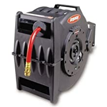 """Legacy Manufacturing L8335 Levelwind Retractable Air Or Water Hose Reel with 1/2"""" ID x 50' Hose"""