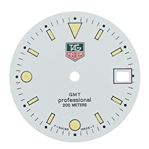 TAG Heuer GMT Professional White Watch Dial Parts