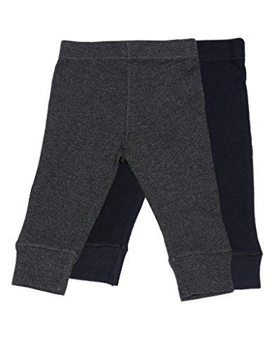 Baby Legging 2 Pack Navy & Dk Grey 24 Months